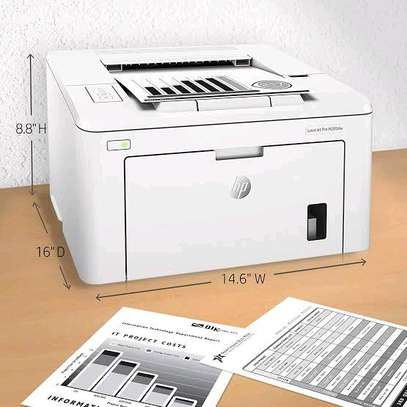 HP Laserjet M203dw Printers Mono Colour Only With Duplex & Wireless image 1
