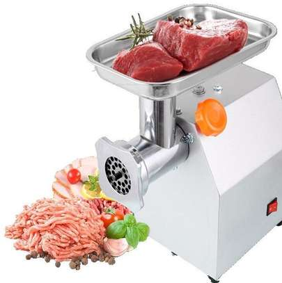 TK12 electric meat grinder with 150 kg/h capacity image 1
