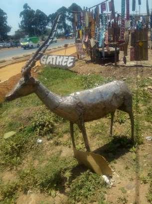 Impala sculpture image 1