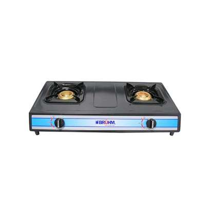 Bruhm BGC MT2B - 2 Burner Gas Stove - Grey