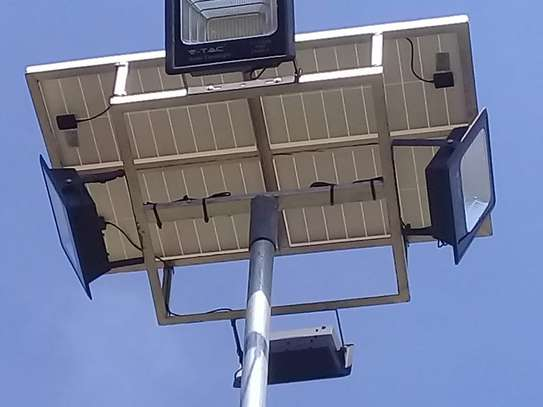 Solar floodlights