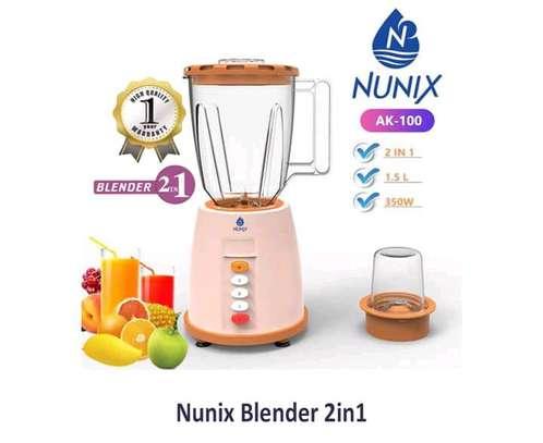 2 in 1 Nunix Blender - Electric image 1