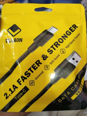 Villaon 2.1A Type-C Fast charging cable image 1