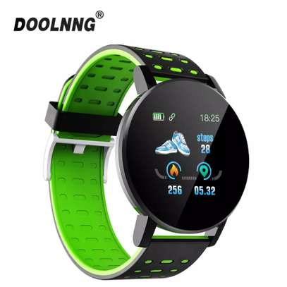 Fitness Tracker  with Heart Rate Blood Pressure   Step Calorie Counter Pedometer Waterproof  -Green image 4