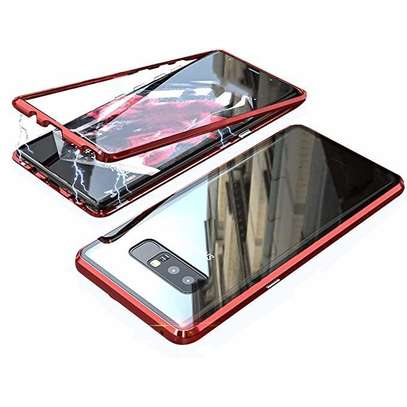 Magnetic Luxury Cases For Samsung S10 S10e S10 Plus With Tempered Back Glass image 9