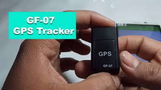 GF-07 Mini GPS Tracker Vehicle Strong Magnetic Free Installation GPS Tracking Locator Personal Tracking Object Anti Lost Tracer image 1