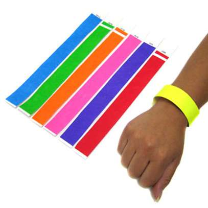 Event Wristband, Event Tags, Paper Wristbands, Tyvek image 1