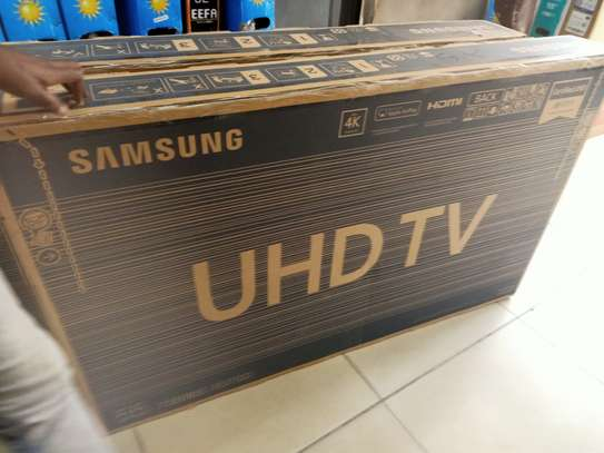 Samsung 55inches smart uhd tv