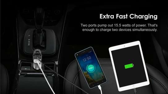 Oraimo Wireless Headset Plus Car Fast Charger image 3