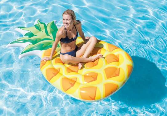 Pineapple Mat Swimming Floater image 1