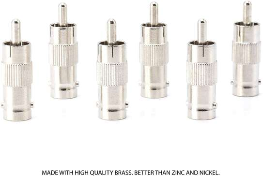 RCA Male to BNC Female Adapter image 1