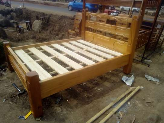 Wooden Bed image 2