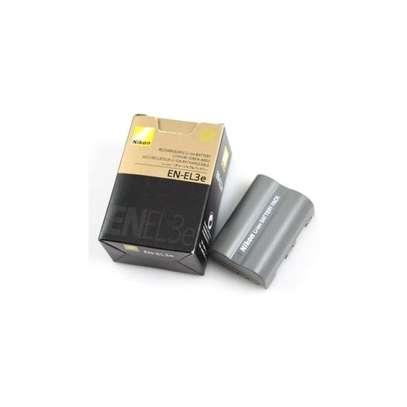 Nikon EN-EL3e ENEL3e Nikon Rechargeable Lithium-Ion Battery (1410mAh) for D200, D300, D700 and D80 Digital SLR Cameras image 1