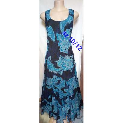Floral Printed  Sleeveless image 1
