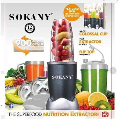 The Superfood Nutrition Extractor 900w-nutri blender image 1