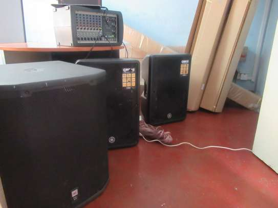 Sound system available for hire