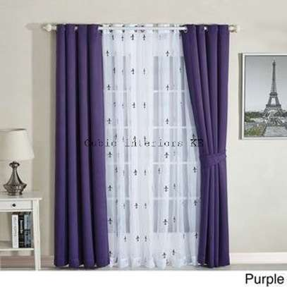 Beautiful curtains and sheers image 4