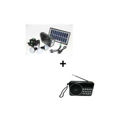 GDLITE Solar Kit + Free Digital Radio image 1