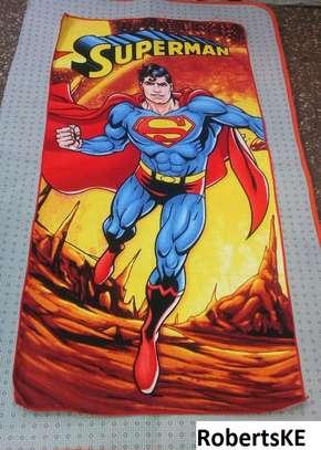 superman themed kids towels image 1