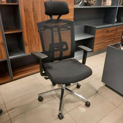 Mesh-Back Desk Chair image 1