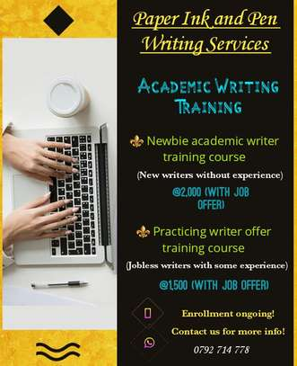 Academic Writing Training. image 1