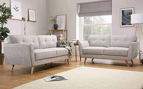 Five seater tufted sofa/white sofas for sale in Nairobi Kenya/Best sofa designs to shop in 2021/Sofa Nairobi image 1
