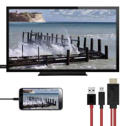 Generic MHL HDMI Adapter 1.8M Micro USB HDMI 1080P HD TV image 3