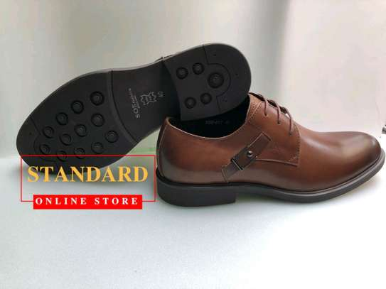 Men's Official Italian Leather Shoes with rubber sole image 32