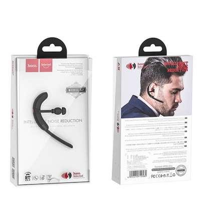 Hoco S7 Business Headset Delight wireless single ear earphone with mic image 5