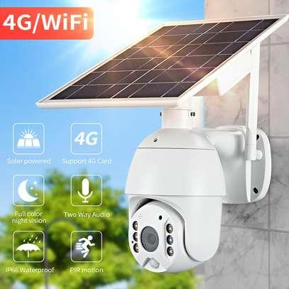 4G Ptz Solar CCTV Camera..n image 1
