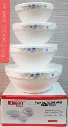 4pcs stackable  bowl set image 1