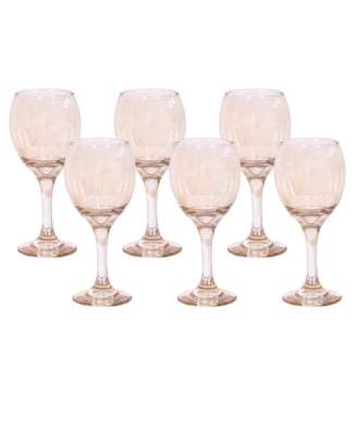 Gold wine glass small image 1