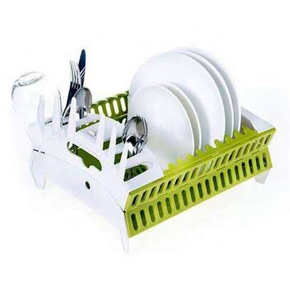 Collapsible dish rack image 1