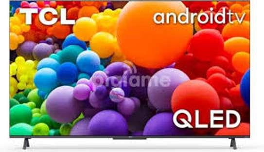 TCL 50 inch Q-LED 50C725 Smart Android UHD-4K Frameless Digital TVs image 1