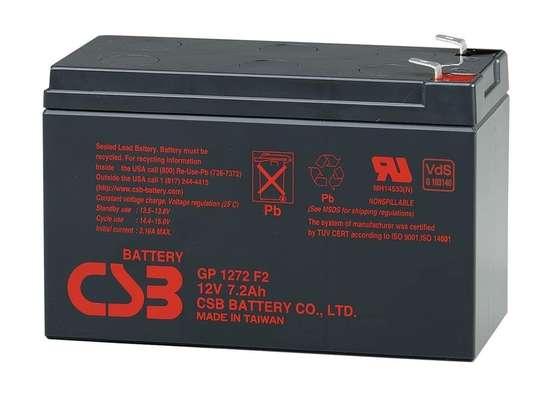 CSB ,UASA, panasonic,Guston,Jacob 12V 7.2Ah UPS battery. image 1