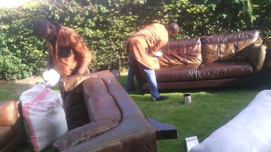 Leather Sofa Dye and Seat Repair image 6