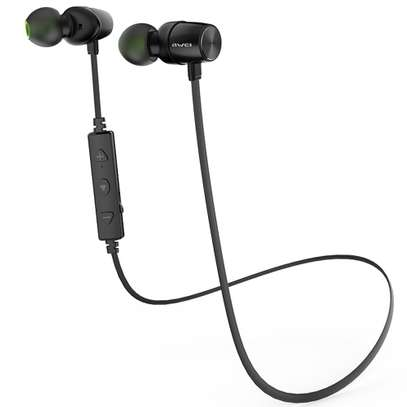 Awei WT30 Magnetic Sports Bluetooth Earphone Earbuds image 6