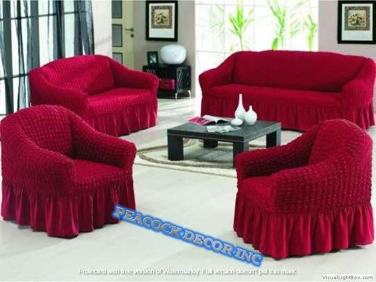 Ready Made Loose Covers 5 seater 11500/= image 4