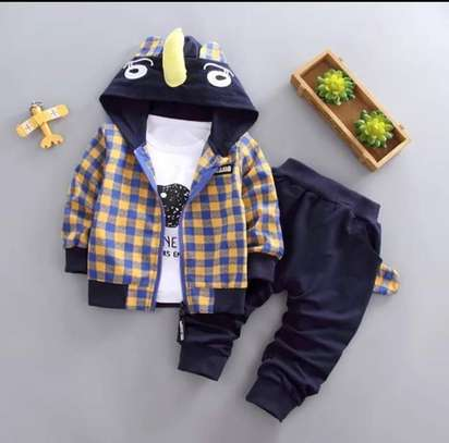 3pc Baby Boy Outfit - 3 Years