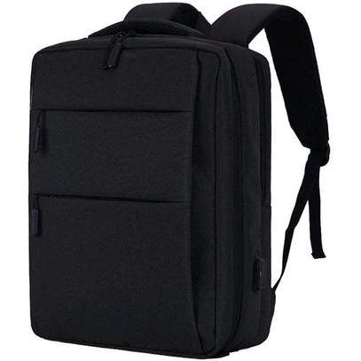 multipurposeOthman Brgenerics Multipurpose Antitheft Backpack &Laptop Bag - Black image 1