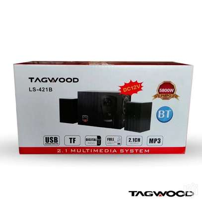 TAGWOOD LS-421B Woofer Multimedia Speaker image 1