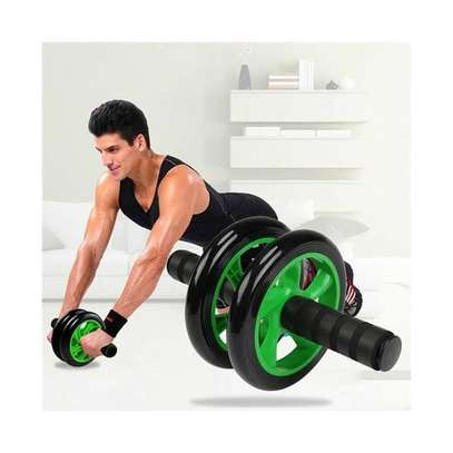Abs Roller Workout Arm And Waist Fitness Exerciser Wheel image 2