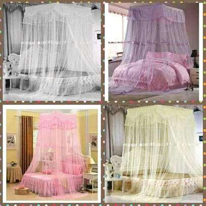 Top square mosquito net