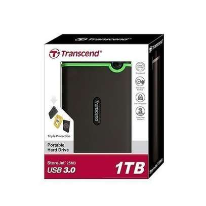 3.0 1TB Transcend Internal HDD With Anti-shock Rubber Case image 1