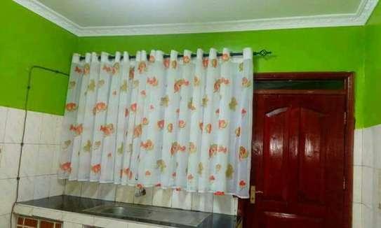 Beautiful kitchen curtains image 10
