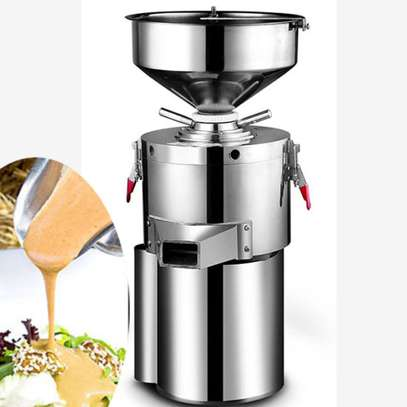 High Efficiency Stainless Steel Material Commercial Peanut Butter Maker 15kg/h image 1