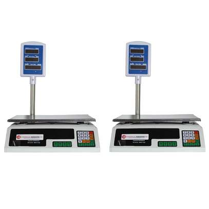 Digital Deli Weight Scales Price Computing Food Produce 60LB ACS-30 image 1