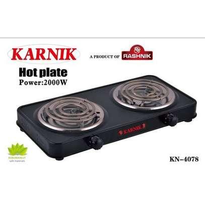 Karnik Modern Double Spiral Hotplate - Electric Cooker/Table Burner image 1