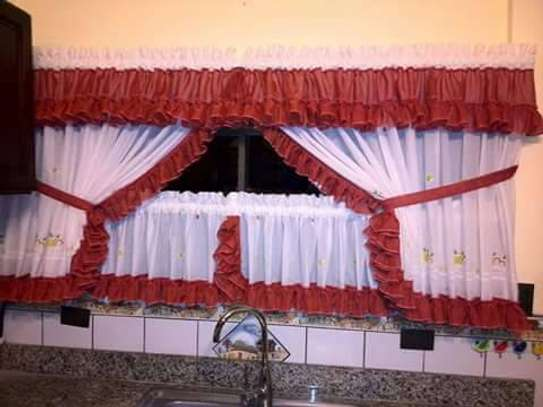 Sewn Designed Curtains and Sheers image 5