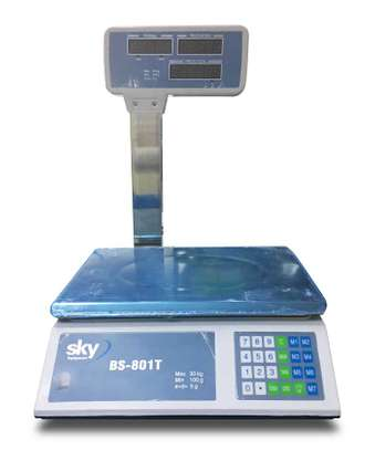Digital 50 Kg Industrial Stamproof With Viewer. image 1